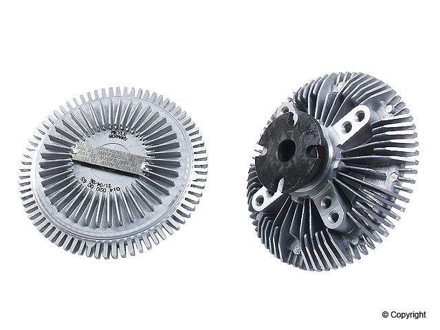 Mercedes 300TD Fan Clutch > Mercedes 300TD Engine Cooling Fan Clutch