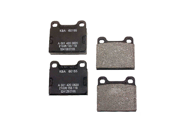 Porsche Brake Pad Set > Porsche 911 Disc Brake Pad