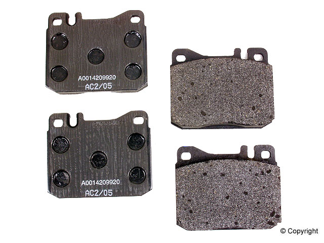 Mercedes 500SEC Brake Pads > Mercedes 500SEC Disc Brake Pad