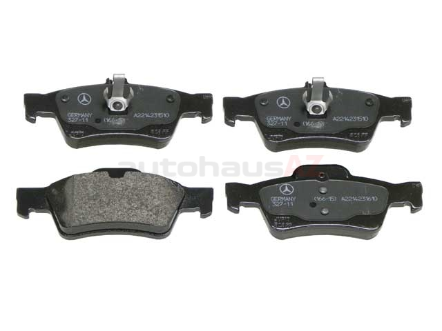 Mercedes Brake Pads > Mercedes SL500 Disc Brake Pad