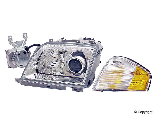 Mercedes SL500 Headlight Assembly > Mercedes SL500 Headlight Assembly
