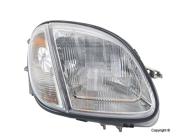 Mercedes SLK32 Headlight Assembly > Mercedes SLK32 AMG Headlight Assembly