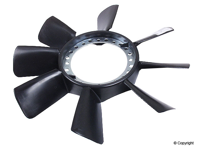 Volkswagen Auxiliary Fan Blade > VW Passat Engine Cooling Fan Blade