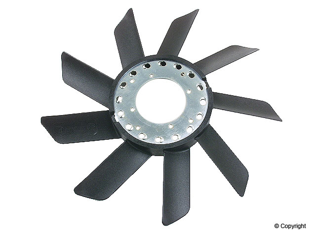 BMW 528E > BMW 528e Engine Cooling Fan Blade
