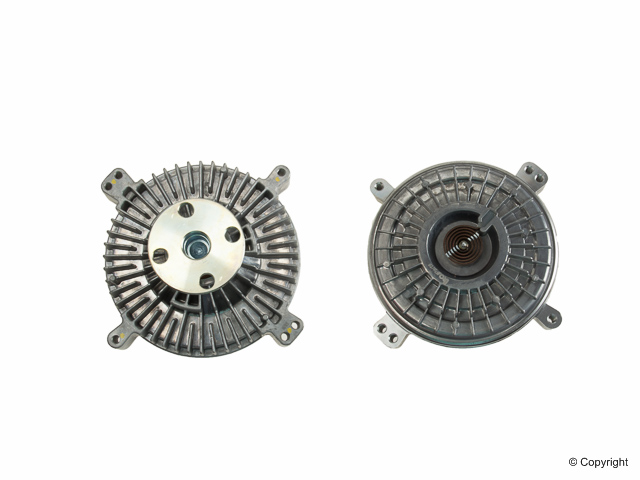 Mercedes Fan Clutch > Mercedes 500SEC Engine Cooling Fan Clutch