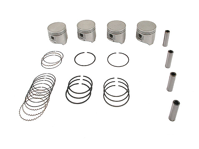 Nissan Piston Set > Nissan D21 Engine Piston Set