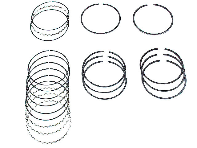 Nissan Piston Ring Set > Nissan NX Engine Piston Ring Set