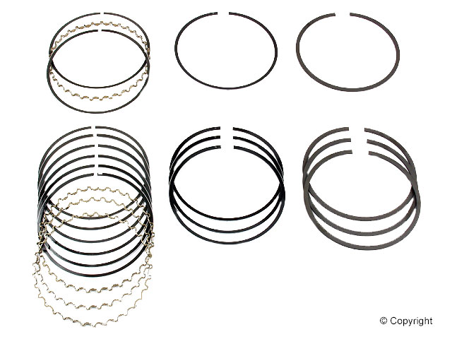 Subaru Piston Ring Set > Subaru GL Engine Piston Ring Set