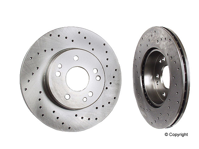 Mercedes 300TE Rotors > Mercedes 300TE Disc Brake Rotor