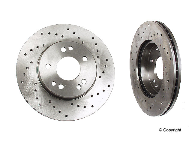Mercedes 260E Rotors > Mercedes 260E Disc Brake Rotor