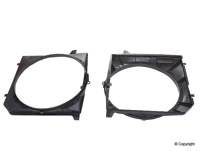 Mercedes Fan Shroud > Mercedes 300CE Engine Cooling Fan Shroud