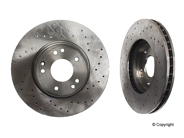 Mercedes SL320 Rotors > Mercedes SL320 Disc Brake Rotor
