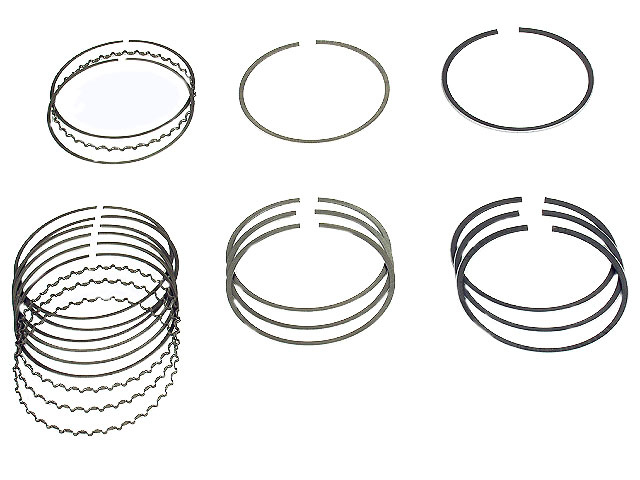 Honda Piston Ring Set > Honda CRX Engine Piston Ring Set