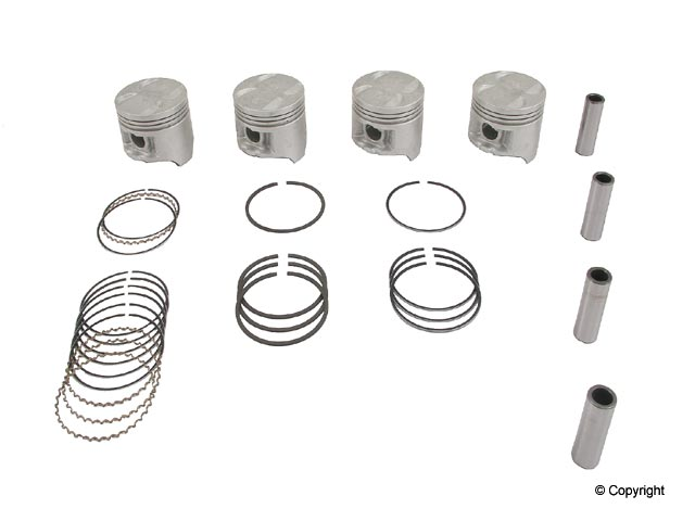 Honda Piston Set > Honda CRX Engine Piston Set