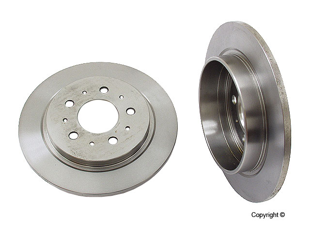 Volvo 780 Rotors > Volvo 780 Disc Brake Rotor