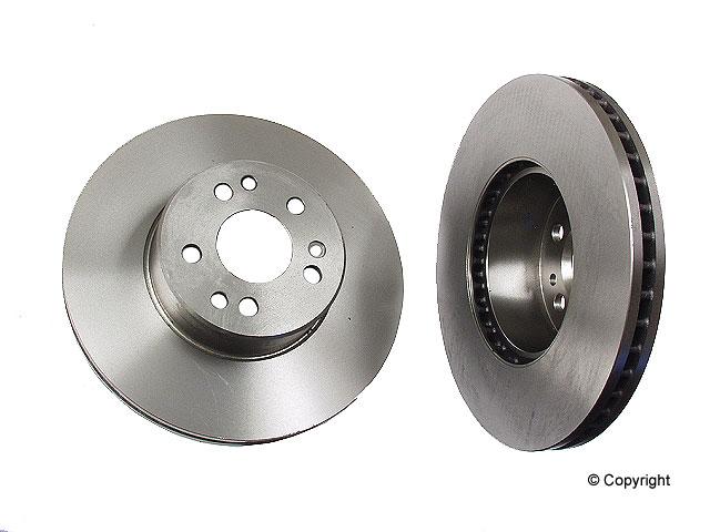 Mercedes 500SEC Brake Disc > Mercedes 500SEC Disc Brake Rotor