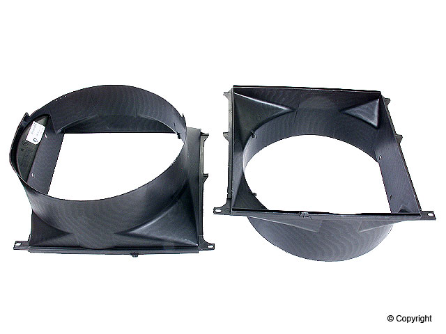 BMW Fan Shroud > BMW 318ti Engine Cooling Fan Shroud