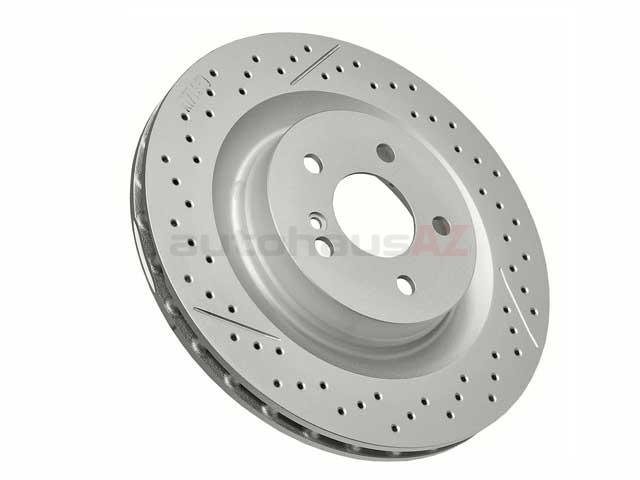 Mercedes CLK55 Rotors > Mercedes CLK55 AMG Disc Brake Rotor