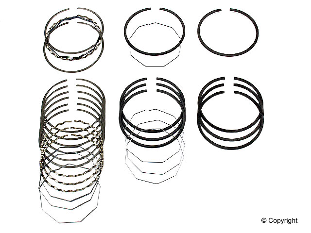 Volvo Piston Ring Set > Volvo 142 Engine Piston Ring Set