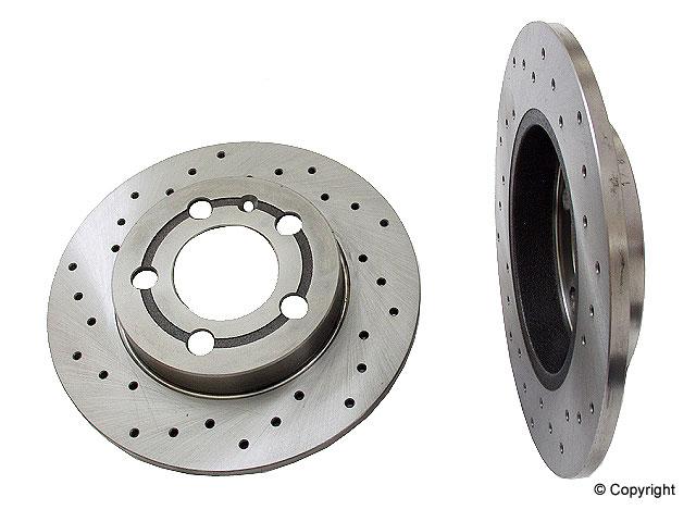 Audi TT Rotors > Audi TT Quattro Disc Brake Rotor