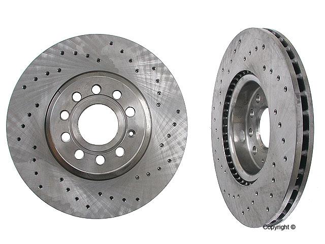 Audi Brake Disc > Audi TT Quattro Disc Brake Rotor