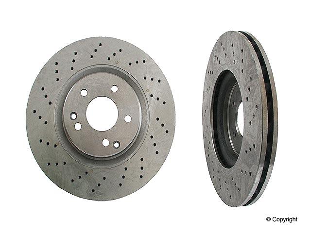 Mercedes C320 Brake Disc > Mercedes C320 Disc Brake Rotor