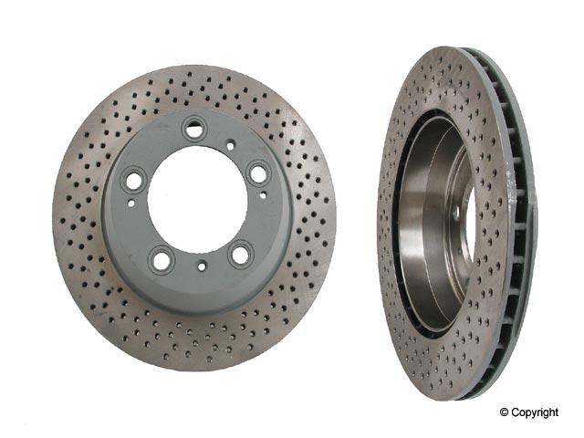 Porsche Rotors > Porsche Boxster Disc Brake Rotor