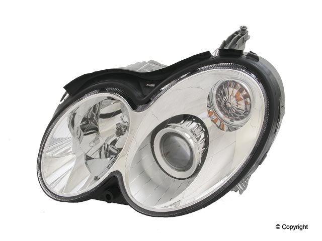 Mercedes Headlight Assembly > Mercedes CLK350 Headlight Assembly