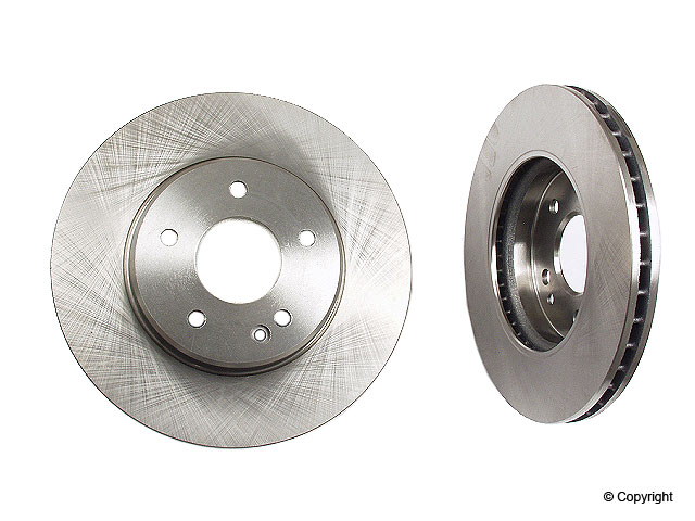 Mercedes C280 Rotors > Mercedes C280 Disc Brake Rotor