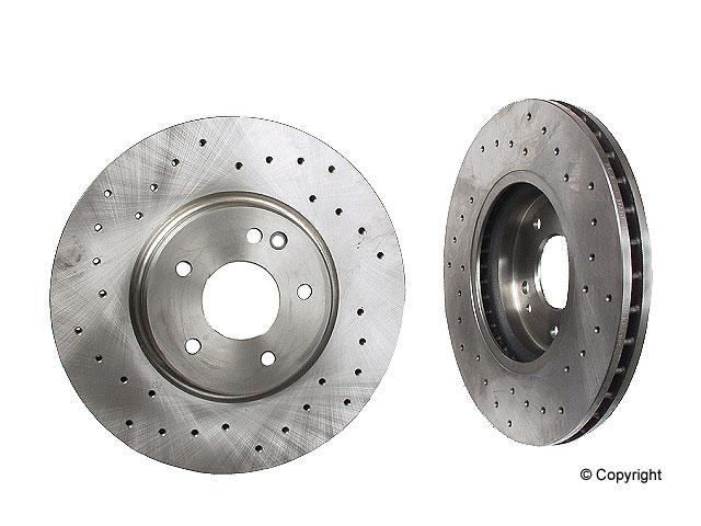 Mercedes C36 Brakes > Mercedes C36 AMG Disc Brake Rotor