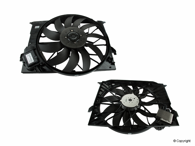 Mercedes Auxiliary Fan Blade > Mercedes S65 AMG Engine Cooling Fan Assembly