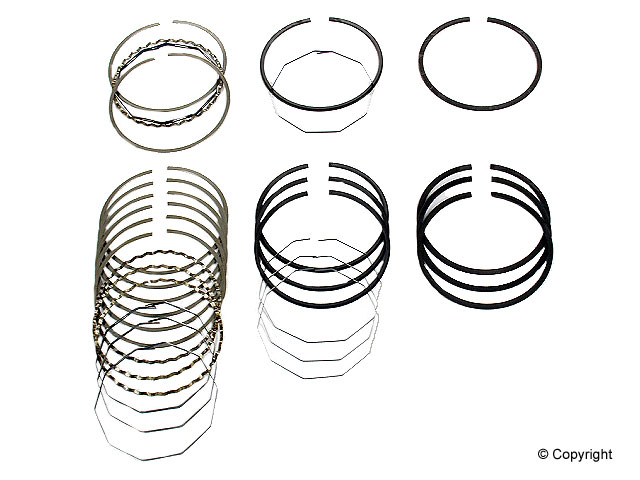 Volvo Piston Ring Set > Volvo 242 Engine Piston Ring Set