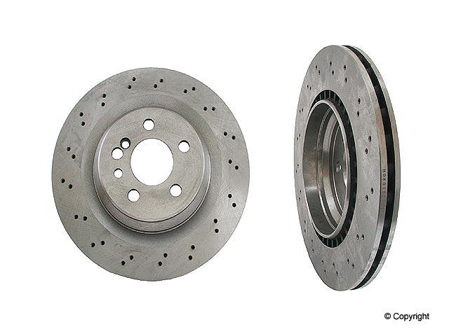 Mercedes S55 Rotors > Mercedes S55 AMG Disc Brake Rotor