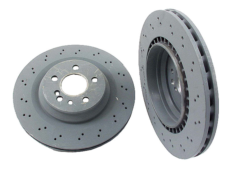Mercedes CL55 Rotors > Mercedes CL55 AMG Disc Brake Rotor