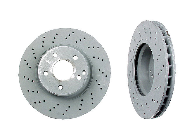 Mercedes SL500 Rotors > Mercedes SL500 Disc Brake Rotor