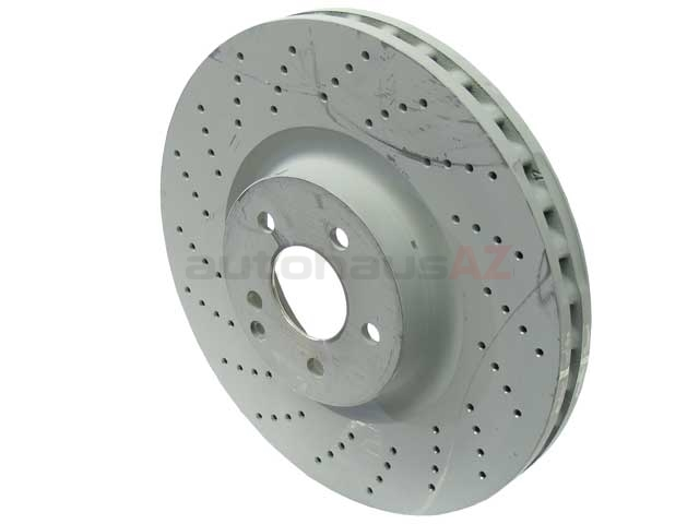 Mercedes SL55 Brake Disc > Mercedes SL55 AMG Disc Brake Rotor