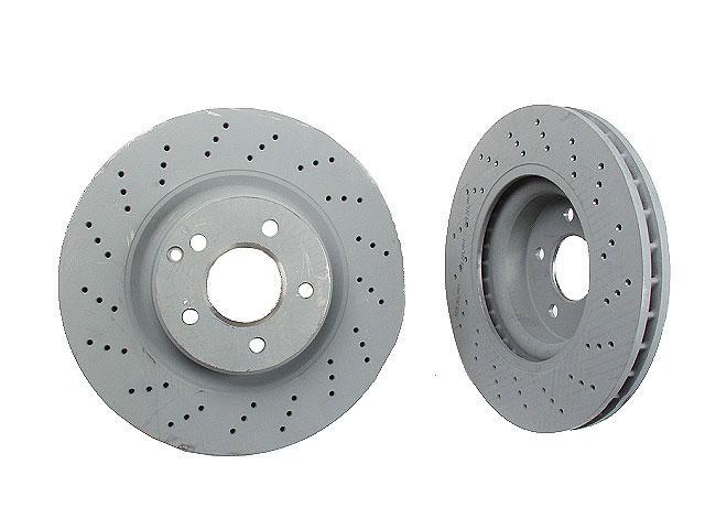 Mercedes SL55 Brake Disc > Mercedes SL550 Disc Brake Rotor