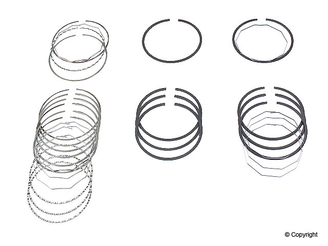 Saab Piston Ring Set > Saab 900 Engine Piston Ring Set