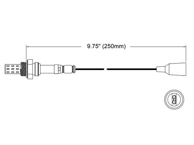 Nissan 280Z Oxygen Sensor > Nissan 280ZX Oxygen Sensor