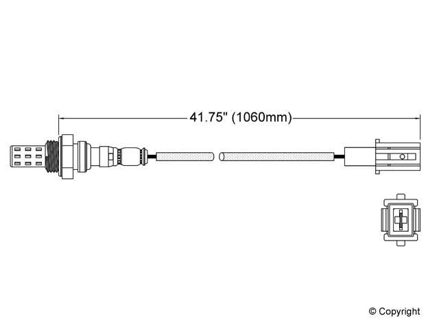 Mazda B2000 Oxygen Sensor > Mazda B2000 Oxygen Sensor