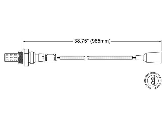 BMW 320 O2 Sensor > BMW 320i Oxygen Sensor