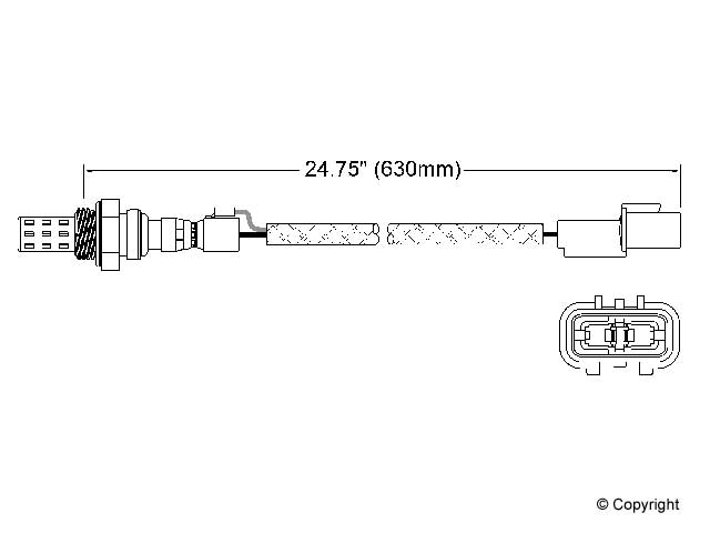Mitsubishi Expo O2 Sensor > Mitsubishi Expo Oxygen Sensor