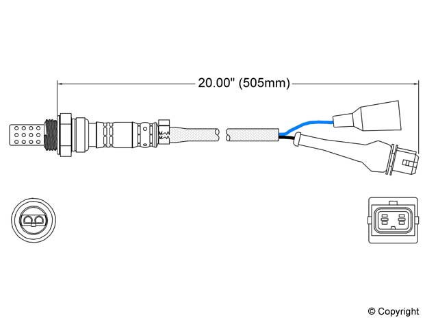 Volvo 740 O2 Sensor > Volvo 740 Oxygen Sensor
