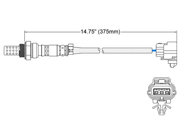 Mazda Protege O2 Sensor > Mazda Protege Oxygen Sensor
