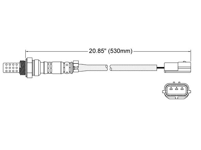 Mazda O2 Sensor > Mazda Millenia Oxygen Sensor