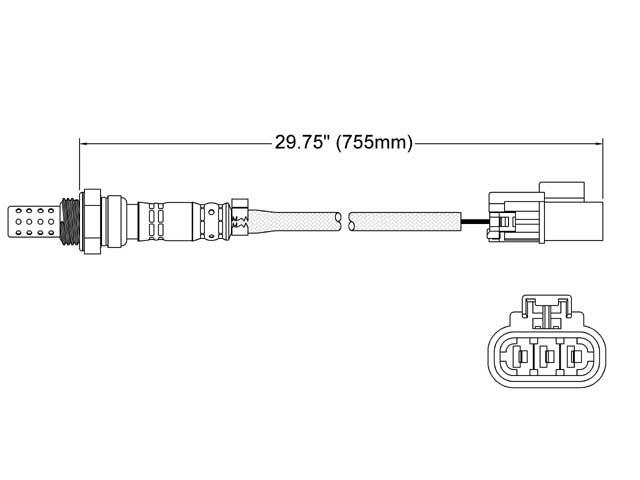 Infiniti I30 O2 Sensor > Infiniti I30 Oxygen Sensor