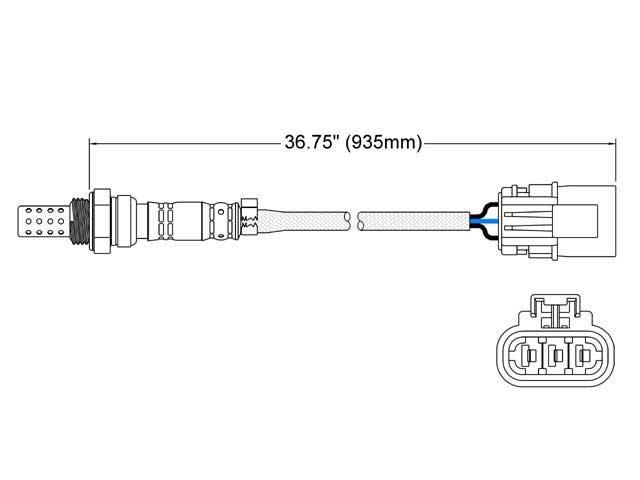 Infiniti QX4 O2 Sensor > Infiniti QX4 Oxygen Sensor