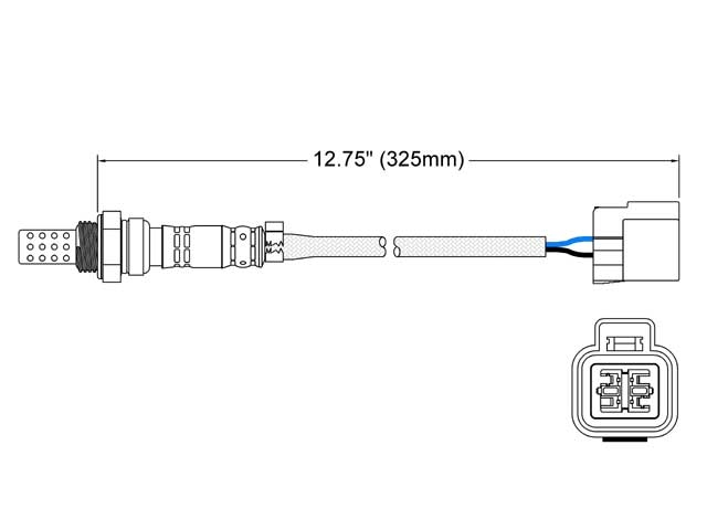 Mitsubishi O2 Sensor > Mitsubishi Mirage Oxygen Sensor