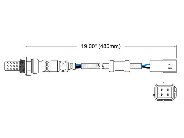 Mazda MX6 Oxygen Sensor > Mazda MX-6 Oxygen Sensor