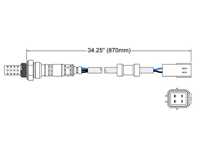 Mazda Millenia Oxygen Sensor > Mazda Millenia Oxygen Sensor